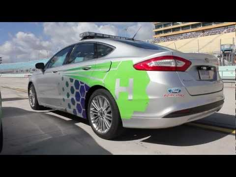2013 Ford Fusion Hybrid NASCAR Pace Car - Ridealong with David Ragan @ Homestead Speedway