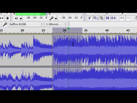 How to Fix the Quality of a Song With Audacity : Audio Recording