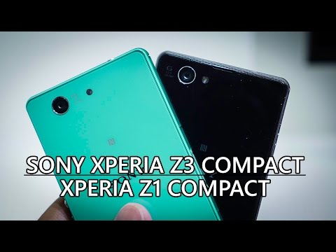 Sony Xperia Z3 Compact vs Xperia Z1 Compact – Quick Look