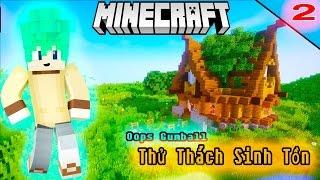 Oops Gumball Minecraft Thử Thách Nấm Sinh Tồn - Tập 2 : XÂY NHÀ THẬT ĐẸP DƯỚI GỐC CÂY