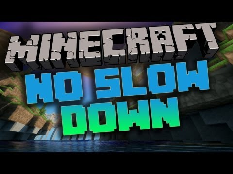 Minecraft 1.4.7: No Slow Down Mod - Review & Installation