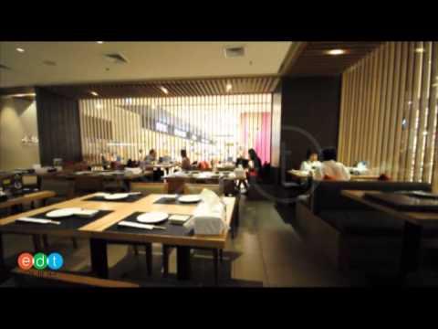 บรรยากาศภายนอกของHonmono Sushi สาขา Central Chidlom
