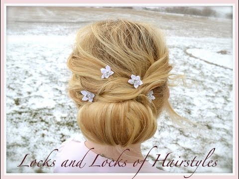 Beautiful Hairstyle for short & thin Hair - YouTube