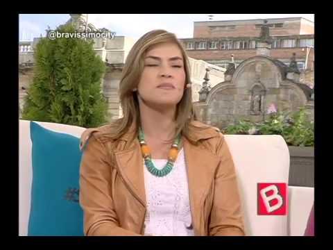 KATHERINE PORTO HABLO DE SUS INICIOS EN LA TELEVISIÓN Y SU PASO POR LA VIUDA NEGRA EN BRAVISSIMO}