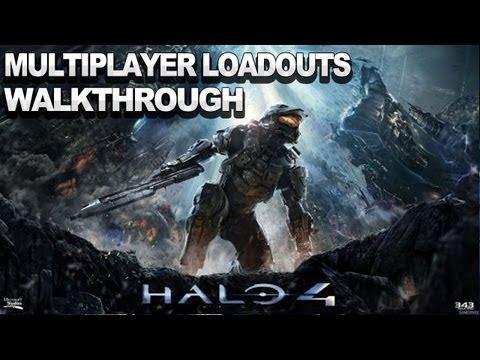 Loadouts Halo 4 Halo 4 Multiplayer Loadouts