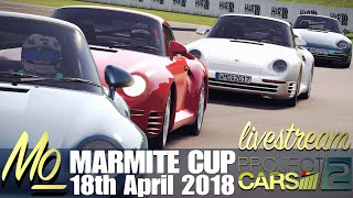 Project CARS 2: Marmite Cup LIVE! [18th April 2018]