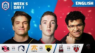 Clash Royale League: CRL West 2019 | Week 5 Day 1! (English)