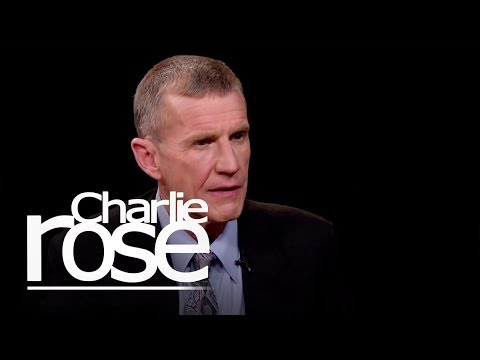 General Stanley McChrystal on Hamid Karzai | Charlie Rose