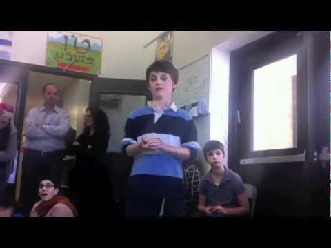 Aaron Pi Day 2012 - SAR Academy
