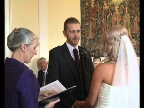 Airth Castle Hotel Wedding Video, J Alison and David , July 2012.