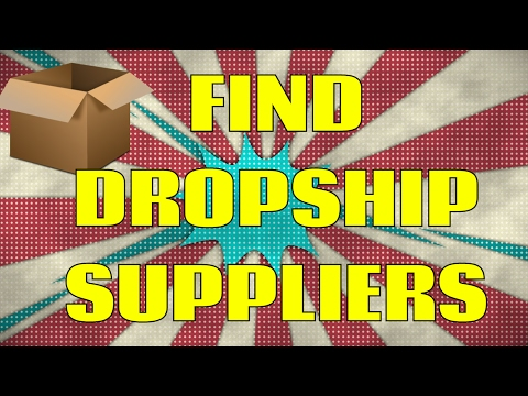 Where to Find Dropshipping and Wholesale Suppliers in 2016