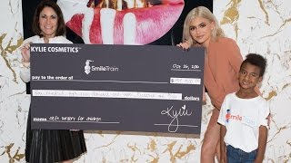 KYLIE UP CLOSE: Watch My Smile Train Check Presentation!