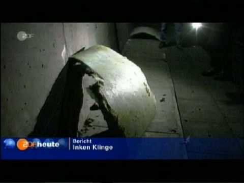 ICE High Speed Train Crash into Sheep in Tunnel, 26.04.2008
