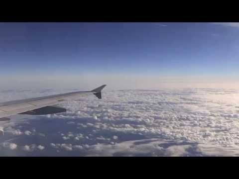Lufthansa Airbus A321 Flight Frankfurt to Hamburg Takeoff and Landing