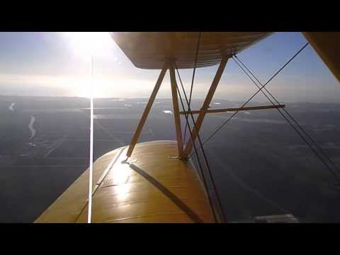 Flying in the Stearman with Jack Out of Monterey Bay Academy Airport