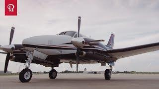 Beechcraft King Air 200, crash in Iceland. Wypadek na Islandii