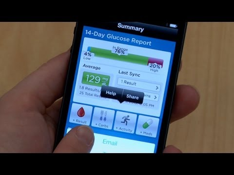New Smart Phone Technology Helps Diabetes Patients Better Manage Their Blood Sugar Levels