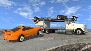 Beamng drive - Improbable Car Stunts 2.0