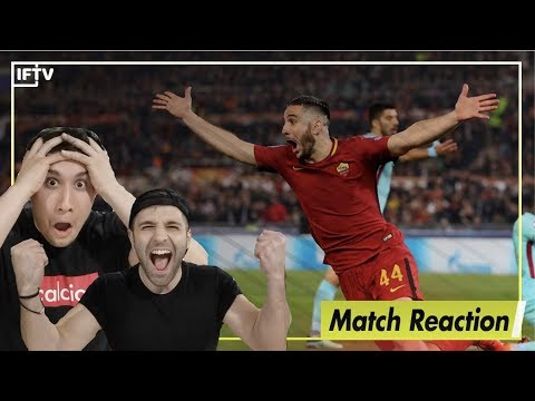 ROMA VS BARCELONA MATCH REACTIONS - GREATEST UCL COMEBACK EVER
