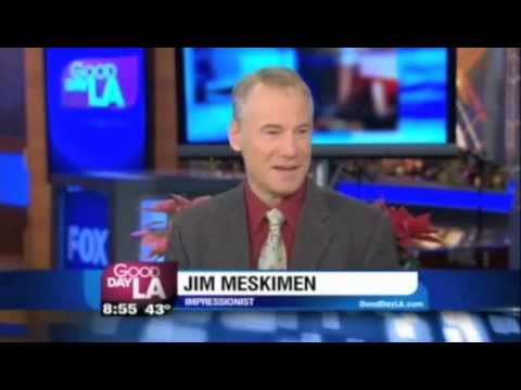 Impressionist Jim Meskimen on Good Day LA