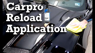 CarPro Reload Topper for CQuartz UK3.0 Application