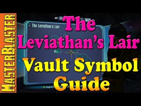 The Leviathan's Lair Cult of the Vault Symbol Guide Location - Borderlands 2