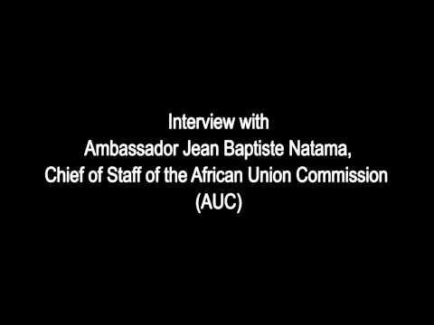 Ambassador Jean Baptiste Natama