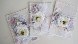 Шебби открытка из Shabby dreams от Фабрики Декору - Скрапбукинг мастер-класс / Aida Handmade