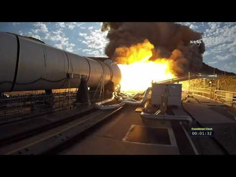 Crucial Booster Test Fires Up in Utah