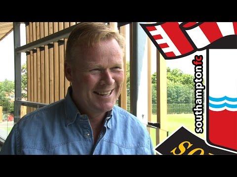 Saints boss Ronald Koeman on Graziano Pellè reunion
