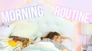 School Morning Routine 2016!