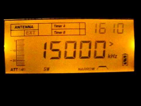 Time/Frequency Signal 15000 kHz. 13.11.2011.