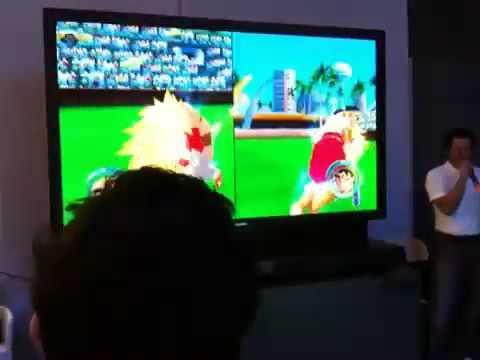 Dragonball: Raging Blast 'Broly LSSJ vs Goku SSJ3'. 3:15
