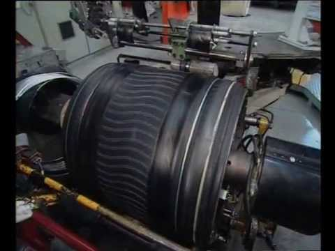 Michelin Tyre Manufacturing Process Youtube