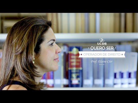 Quero ser operador de Direito - Direito UCDB
