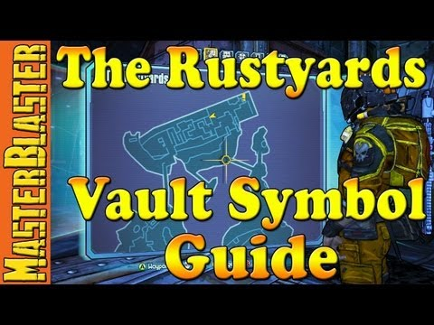 The Rustyards Cult of the Vault Symbol Guide Location - Borderlands 2