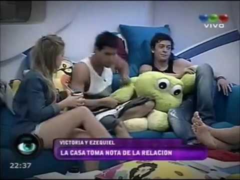 Sexo en Gran Hermano 2012  así fue la escena entre Victoria y Ezequiel