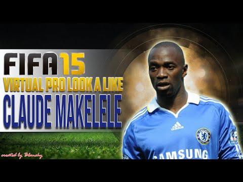FIFA15 VIRTUAL PRO LOOK A LIKE   CLAUDE MAKELELE