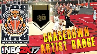 How To Unlock Chasedown Artist | NBA 2K17