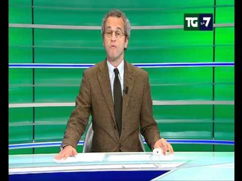 TG LA7 - Mentana risponde a Berlusconi sugli insulti a Lerner durante l'Infedele