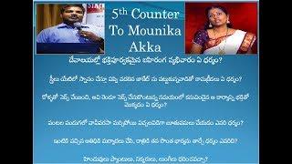 5th counter to Mounika