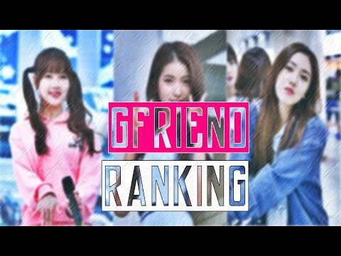 GFRIEND - RANKING IN DIFFERENT CATEGORIES 2016