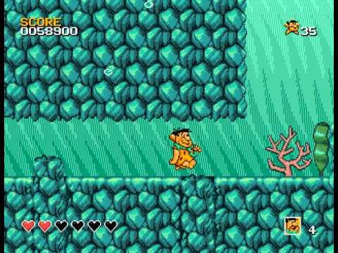 The Flintstones - Flinstones, The (GEN) - Easy mode playthrough - User video