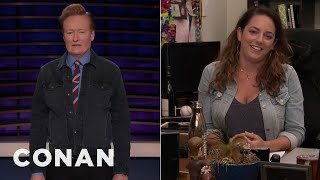 "Conan Checks Back In On Sona's ""Friends"" Marathon - CONAN on TBS"