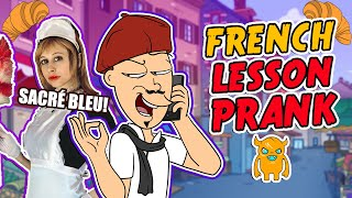 Frisky French Lesson Prank - Ownage Pranks