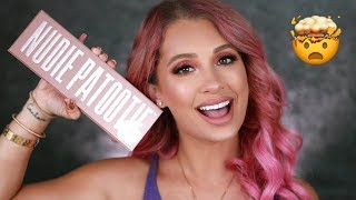 LAURA LEE NUDIE PATOOTIE EYESHADOW TUTORIAL