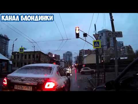 АВТО ПРИКОЛЫ ЯНВАРЬ 2016  Автоприколы за рулем, Бабы ТП за рулем #32