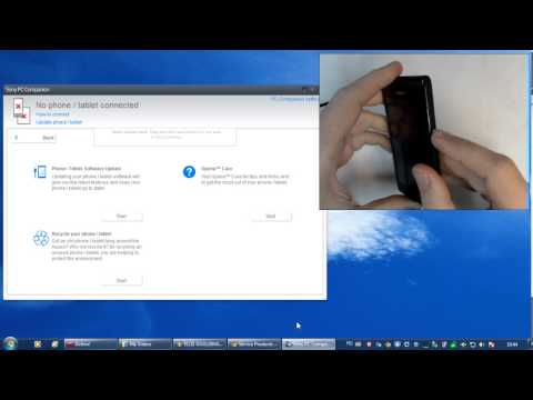 Sony Xperia M C1905 - How to update software
