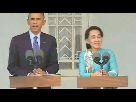 Myanmar, Obama: assurdo che Ang San Suu Kyi non possa ambire a presidenza