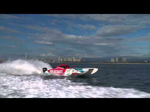 XCAT Powerboat World Series - Gold Coast